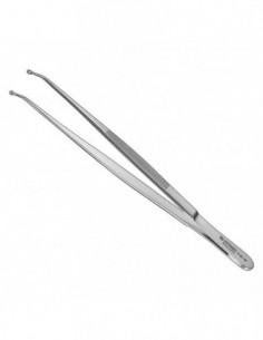 Pinzas de suturas, 16 cm, con ojo
